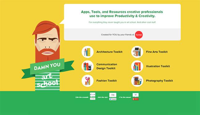 Diseño Web - Flat Design 2015