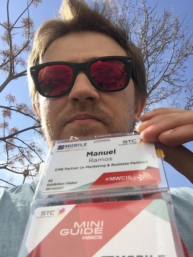 Manuel en el MWC 2015